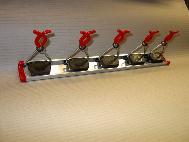ToolHolder Set 0.5 m + 5 Holders